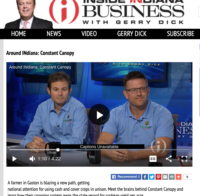 [Interview] Inside INdiana Business with Gerry Dick